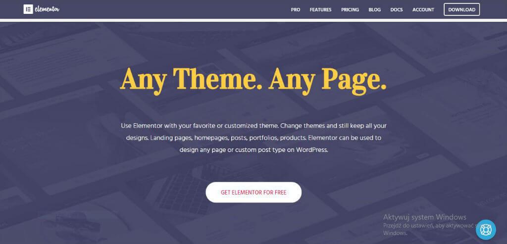 any theme any page elementor nectarstudio