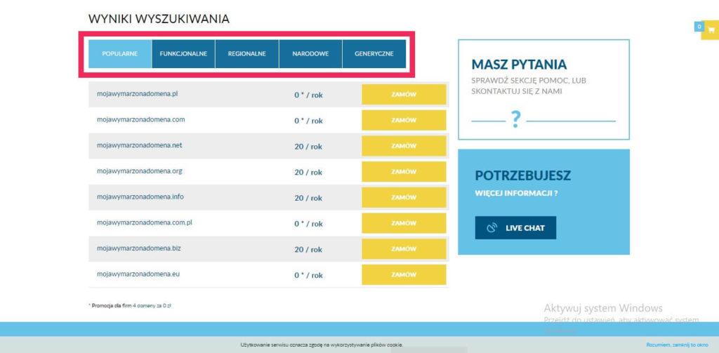 poradnik jak kupić domenę w lh.pl