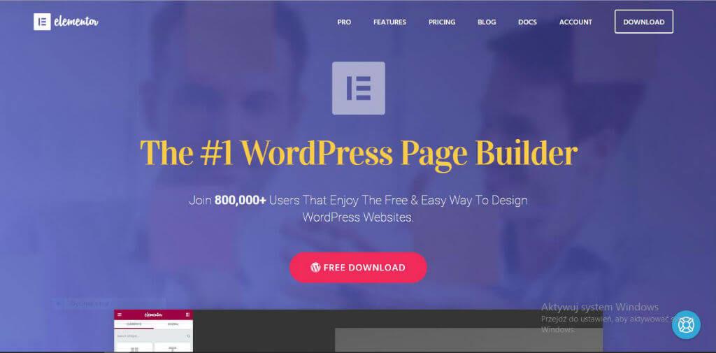the #1 wordpress page builder elementor nectarstudio